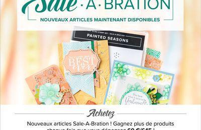 NOUVELLE VAGUE DE CADEAUX SALE-A-BRATION !!