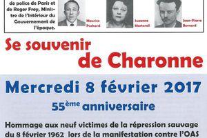 Se souvenir de Charonne...