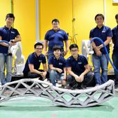 [Vidéo] Deux robots se synchronisent pour imprimer en 3D du béton - Technos et Innovations