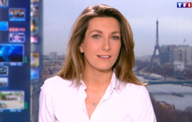 2013 12 21 - 13H00 - ANNE-CLAIRE COUDRAY - TF1 - LE 13H
