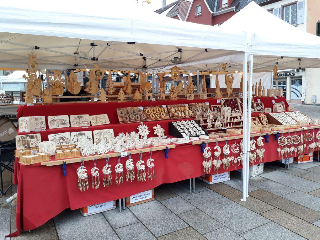 Ambiance de Saint Nicolas, achats et décors à Saverne