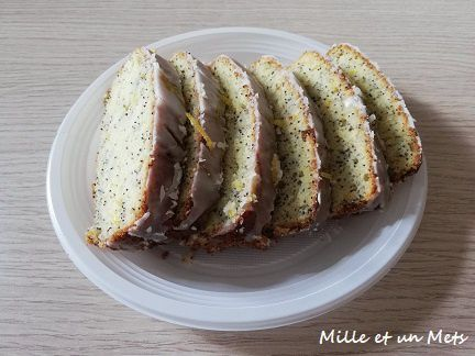 Cake citron & pavot sans gluten
