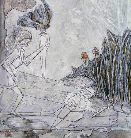 Katerine Bruneau, peintures 2009 (I)