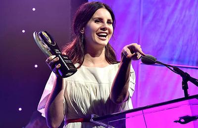 Lana Del Rey aux ASCAP Pop Music Awards (23.04.2018)