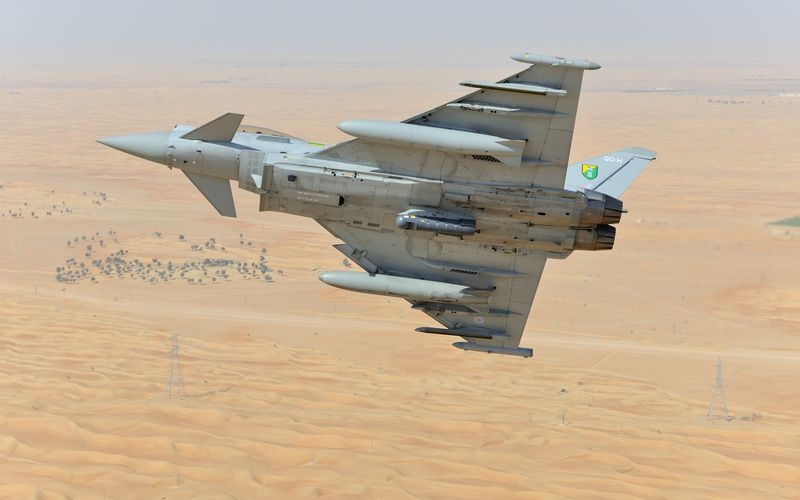 Le Qatar envisage d'acquérir 24 Eurofighter Typhoon