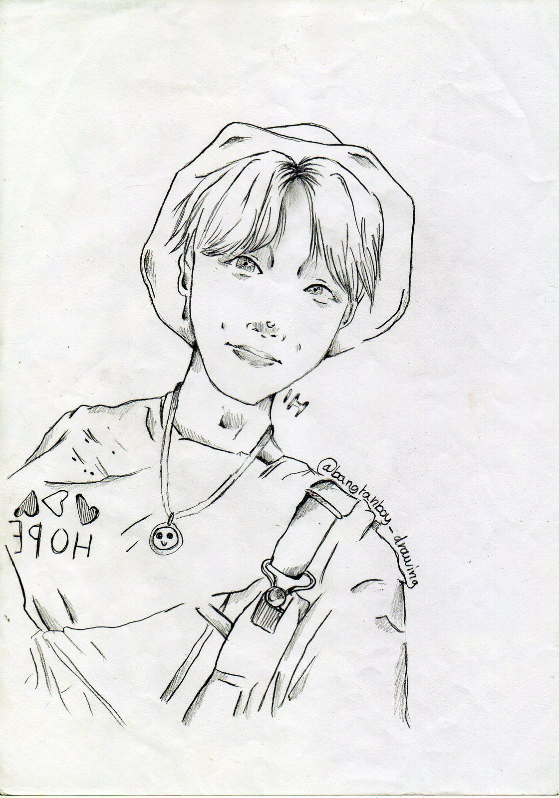 "La hotte à dessins (13/16) : N° spécial ""BTS world Tour"" (part one)"