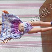 tuto gratuit poupée : petite culotte en coton multicolore - Chez Laramicelle