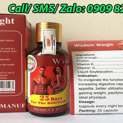 Vitamin Wisdom Weight chính hãng mua ở đâu?