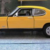 FORD CAPRI RS 2600 JAUNE STREET CLASSICS BURAGO 1/32 - car-collector.net