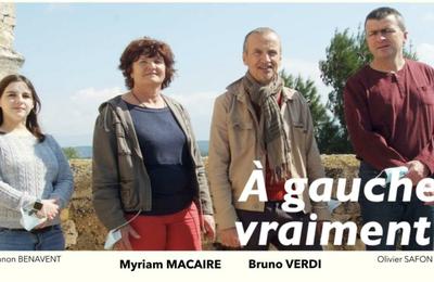 """Résultats du canton de Pernes: 11,4% pour la liste """"À gauche, vraiment!"""""""