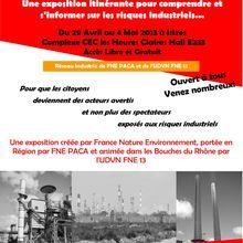 """Exposition """"1810-2010 la société face aux risques industriels"""" à Istres du 29 avril au 4 mai 2013"""