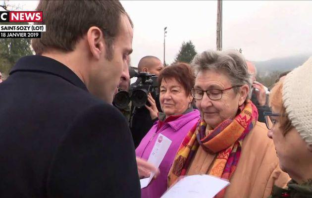 Emmanuel Macron à propos de la CSG : « On va faire le calcul ensemble »