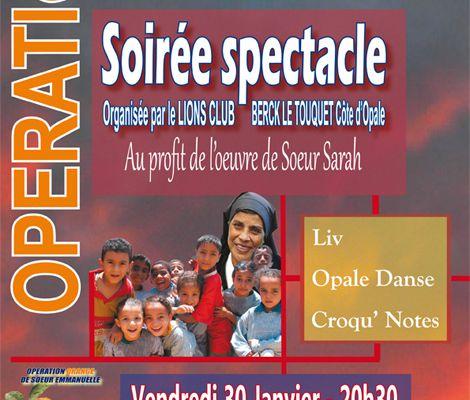 OPERATION ORANGE...POUR LES OEUVRES DE SOEUR SARAH, le 30 JANVIER...