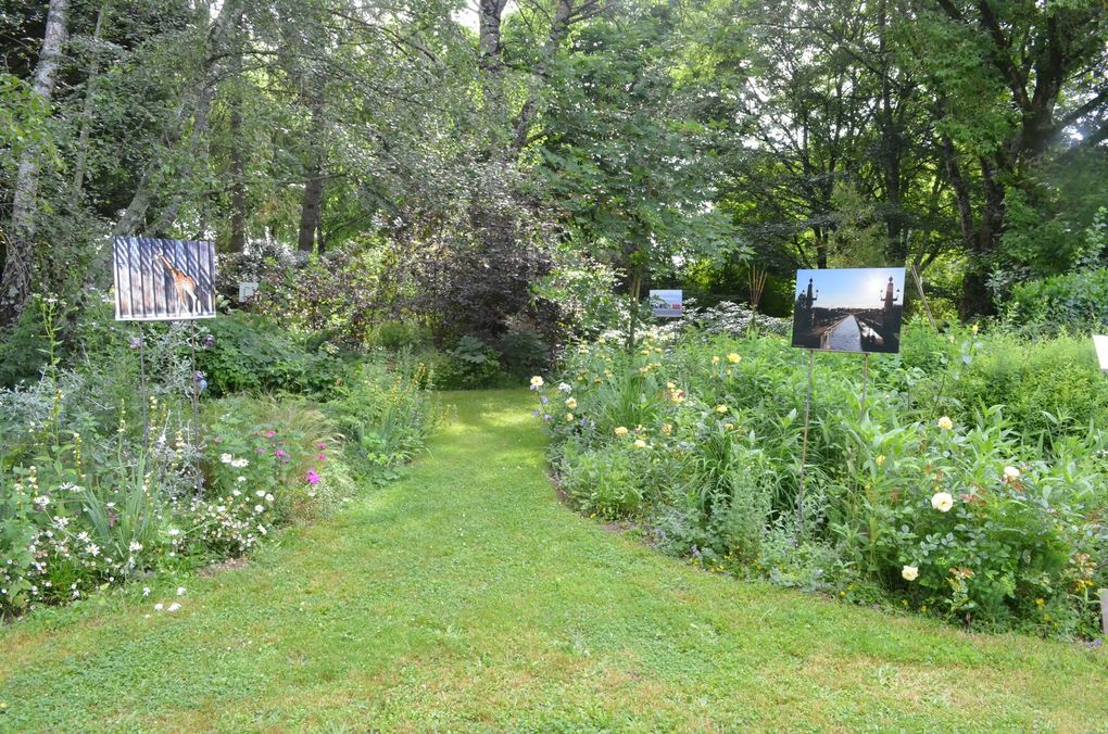 APIPAP expose dans un jardin merveilleux