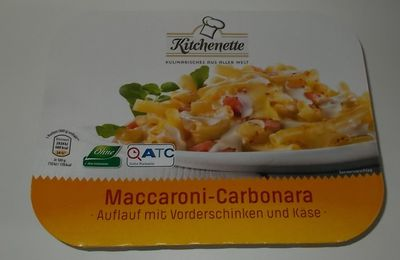 Aldi Kitchenette Maccaroni-Carbonara