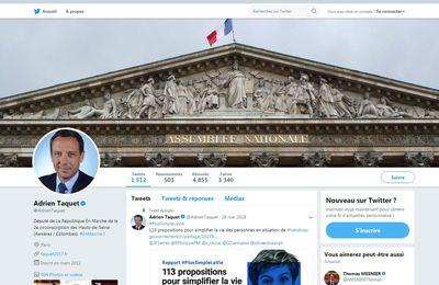 le Député LREM Adrien TAQUET nommé Secrétaire d'Etat à l'enfance