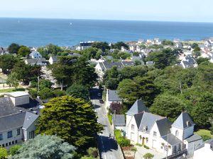 Batz sur mer, vue depuis le clocher de l'église