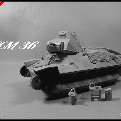 FCM 36 (ICM 1/35) montage 2/2