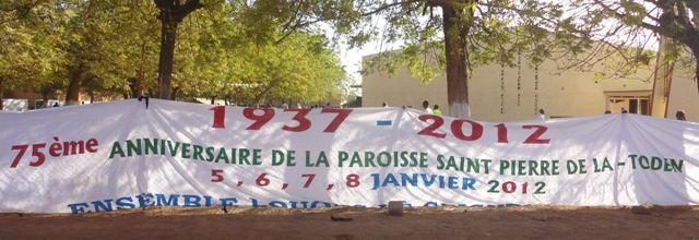 75è anniversaire de la Paroisse de La-Toden