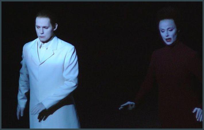 Stéphane Degout (Pelléas) et Anne Sofie Von Otter (Geneviève)