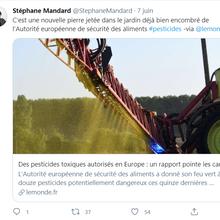 Évaluation des pesticides en Europe: une faille dans la déontologie du Monde