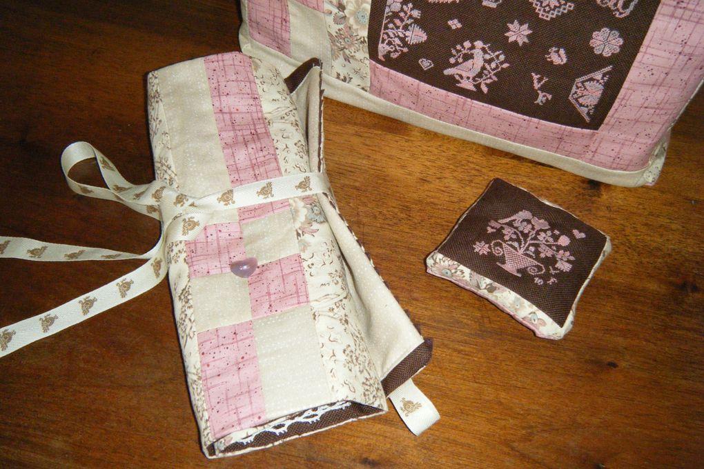 Quaker Martha Brady, sac quaker chocolat