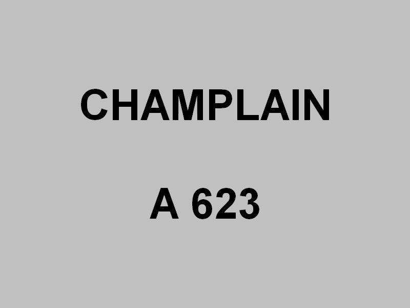 CHAMPLAIN  A623 , Patrouilleur hauturier ou batiment multi missions ( B2M) , en construction à Concarneau le 10 septembre 2016