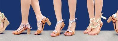 Azéli: la nouvelle marque de sandales aux liens interchangeables