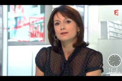 [2012 11 26] LAURENCE OSTOLOZA - FRANCE 2 - TELEMATION @07H40