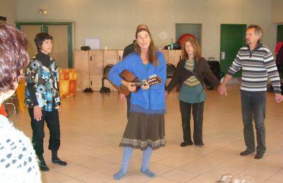 Chanter et danser pour la paix du coeur