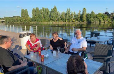 Rives en fête  repas de cohésion  05 / 09  / 2021 .....Plus une petite sortie à la fêtes du cochon      !!!!