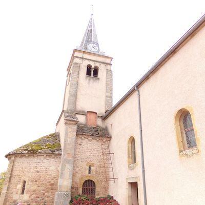 Les cloches de l'église de Trivy