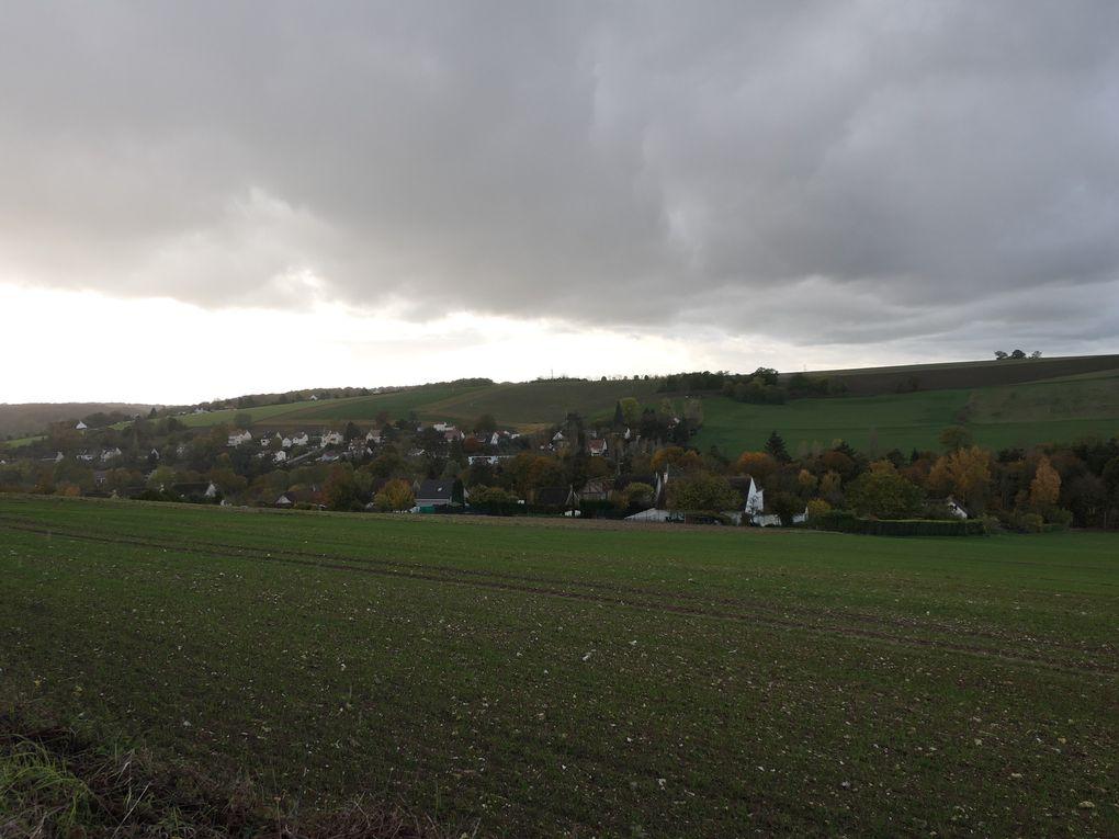Randonnée Vernouillet à Beynes - 22,5 km.