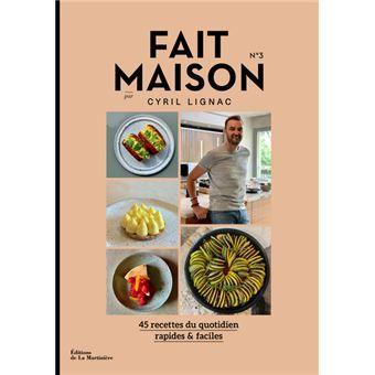 Tome 3, tous en cuisine avec Cyril lignac, le livre Fait maison tome 3 sort bientôt