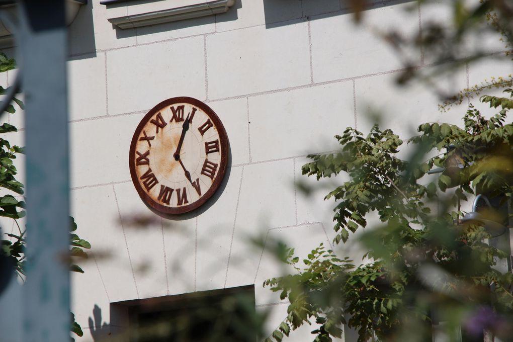 Collections de cadrans solaires et d'horloges