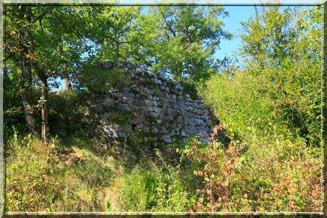 Diaporama château de Sainte Catherine à Balaguères