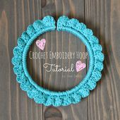 Sew Chatty: {Crochet Embroidery Hoop TUTORIAL}