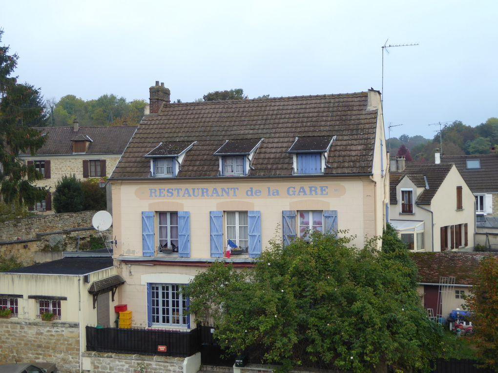 Randonnée de Boissy-L'Aillerie à Chars - 19,8 km.