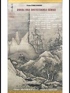 STAGE SHU KITAURA SENSEI A TOULOUSE