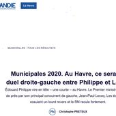 """Des nouvelles du """"fief"""" du premier ministre : Le Havre - Ça n'empêche pas Nicolas"""