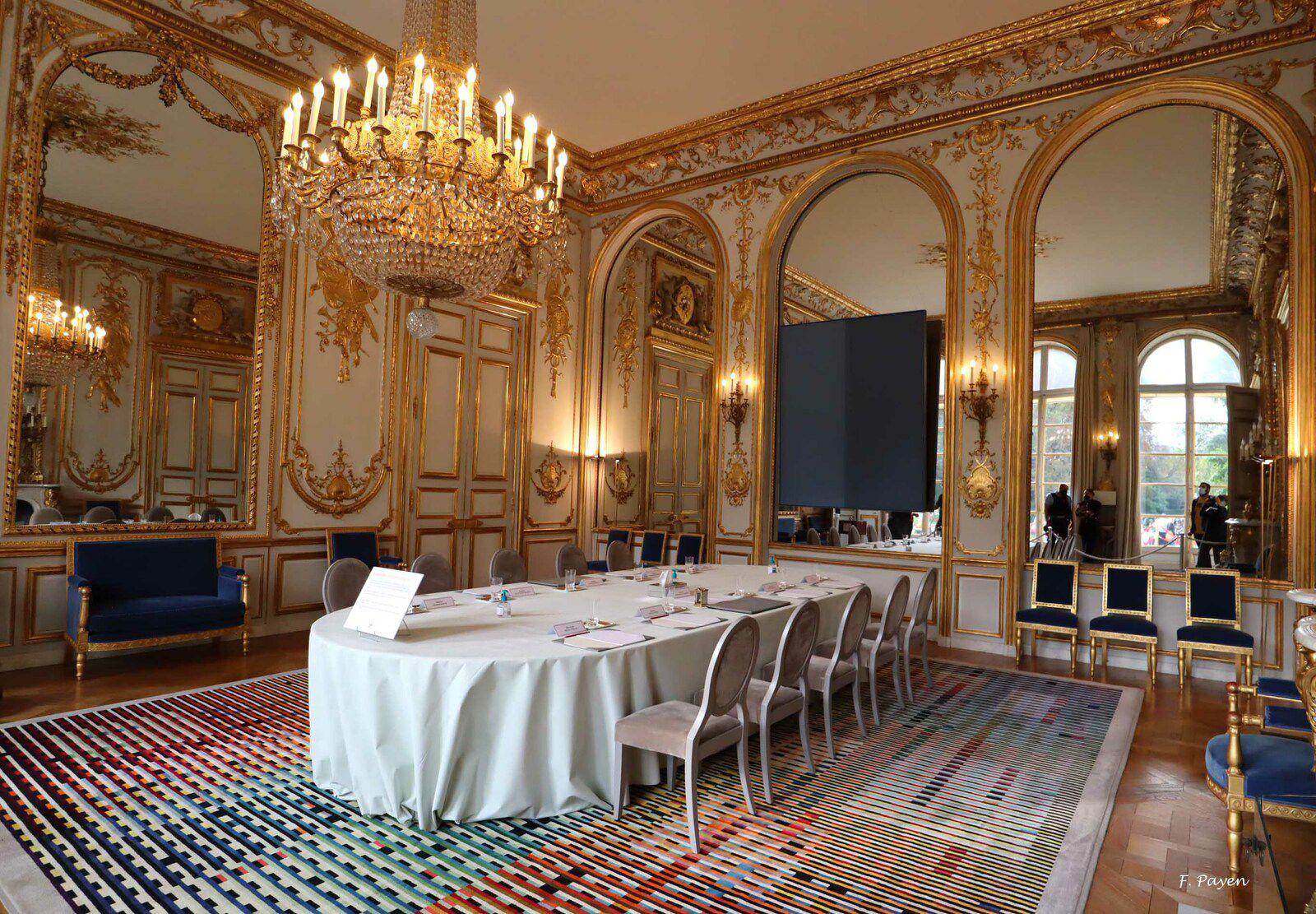 Palais de l'Elysée, salon des ambassadeurs.