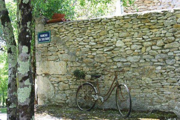 Entre Cajarc et Cahors, chemin de Saint Jacques.