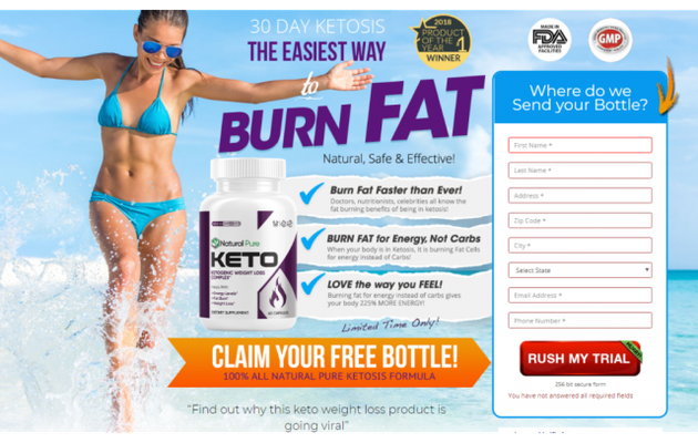 Natural Pure Keto:-These Diet supplement Help YOU Burn Extra fat...