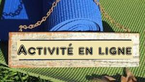 Activité en ligne !