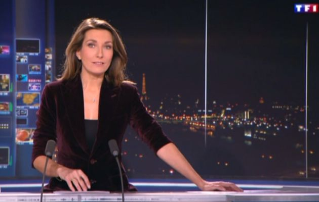 2013 12 21 - 20H00 - ANNE-CLAIRE COUDRAY - TF1 - LE 20H