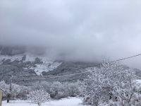 La Mure Argens nouvelles chutes de neige les 28 et 29 décembre