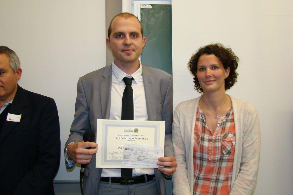 2013 - Prix Création Entreprise Compiègne