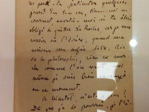 Correspondance personnelle de Cézanne...