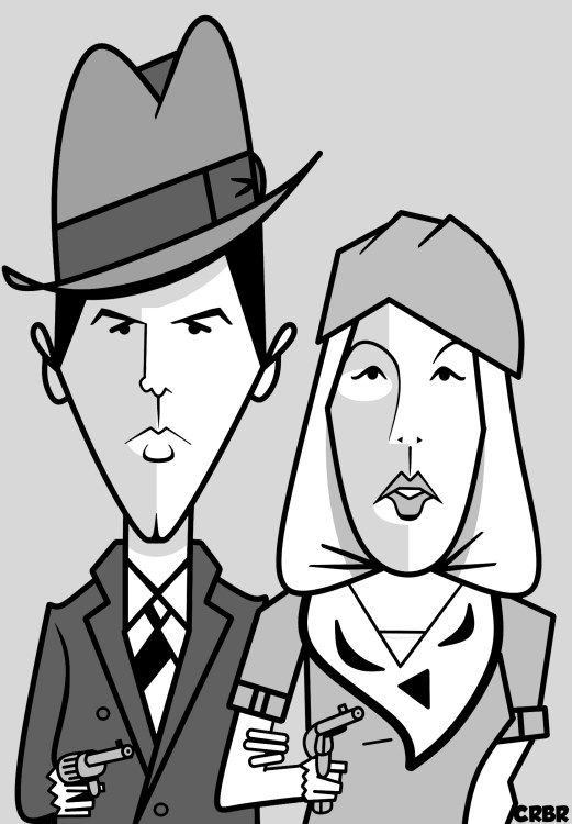 Comment dessiner Bonnie and Clyde?