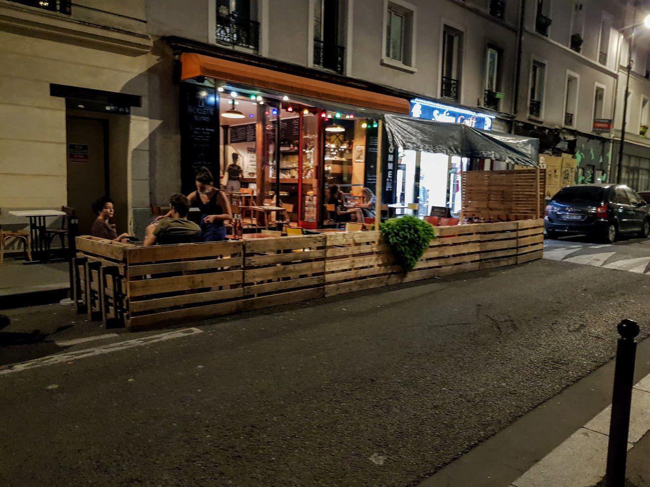 La Bicyclette restaurant Paris 19 rue de Chaumont